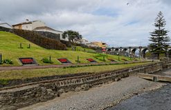 Parque hermoso en Ribeira grande Fotografía de archivo libre de regalías