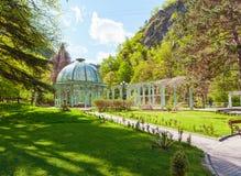 Parque histórico central de Borjomi geórgia foto de stock royalty free