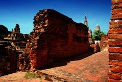 Parque histórico de Ayuttaya, Tailandia Fotografía de archivo libre de regalías