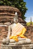 Parque histórico de Ayutthay en Tailandia Foto de archivo