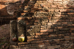 Parque histórico de Ayutthaya Foto de archivo libre de regalías