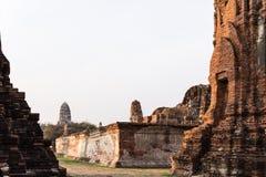 Parque histórico de Ayutthaya Fotos de archivo