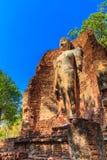 Parque histórico de Kamphaeng Phet em Tailândia Foto de Stock