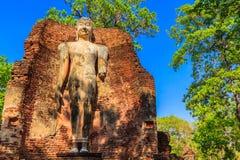 Parque histórico de Kamphaeng Phet en Tailandia Foto de archivo