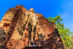 Parque histórico de Kamphaeng Phet en Tailandia Foto de archivo libre de regalías