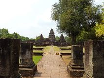 Parque histórico de Phimai Imagen de archivo