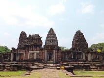 Parque histórico de Phimai Foto de archivo libre de regalías