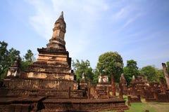 Parque histórico de Sri Satchanalai en Sukhothai Fotos de archivo libres de regalías