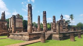Parque histórico de Sukhothai imagens de stock royalty free