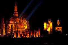Parque histórico de Sukhothai. foto de archivo