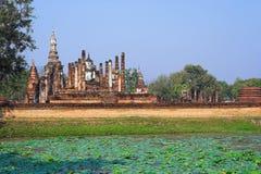Parque histórico de Sukhothai fotografia de stock royalty free