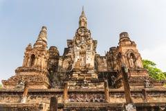 Parque histórico de Sukhothai Fotos de archivo