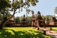 Parque histórico de Sukhothai Foto de archivo libre de regalías