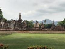Parque histórico de Sukhothai, Tailândia Imagem de Stock Royalty Free
