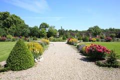 Parque histórico del castillo Gesmold en Baja Sajonia, Alemania Fotografía de archivo libre de regalías