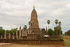 Parque histórico del Si Satchanalai Chaliang Foto de archivo libre de regalías