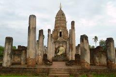 Parque histórico del Si Satchanalai Chaliang Foto de archivo
