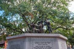 Parque histórico do monumento em público no savana do oldtown Imagens de Stock Royalty Free