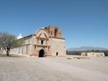 Parque histórico nacional de Tumacacori Fotografia de Stock