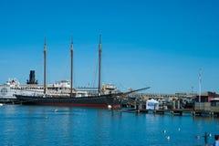 Parque histórico nacional marítimo Fotografia de Stock