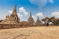 Parque histórico Tailandia de Ayutthaya Foto de archivo libre de regalías