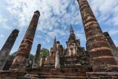 Parque histórico Tailandia de Sukhothai Fotos de archivo