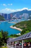 Parque Hong-Kong del océano fotografía de archivo