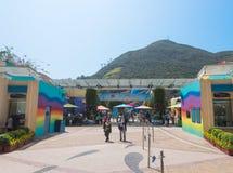 Parque Hong-Kong del océano Imagen de archivo libre de regalías