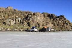 Parque Incahuasi, Salar De Uyuni Bolivia Royalty Free Stock Photography