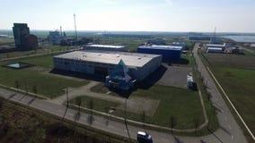 Parque industrial vídeos de arquivo