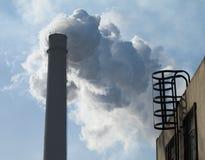 Parque industrial pesado Imagem de Stock