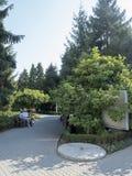 Parque inglés, Craiova, Rumania imagen de archivo libre de regalías