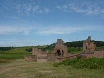 Parque Inglaterra - ruinas de Bradgate de la casa Imagenes de archivo