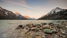 Parque internacional de la paz del lago Waterton Imagen de archivo libre de regalías