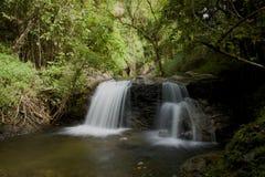 Parque internacional Tailandia del norte de Inthanon de las cascadas Fotografía de archivo