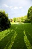 Parque irlandês verde imagens de stock