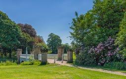 Parque Irvine de Eglinton da ponte do competiam fotografia de stock royalty free