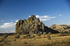 Parque Isalo nacional, Madagascar Fotografía de archivo