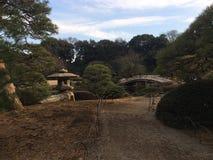 Parque japonés Fotografía de archivo libre de regalías