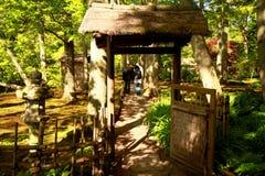 Parque japonés en La Haya Imagen de archivo libre de regalías