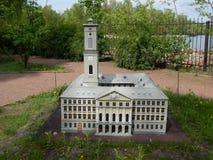 PARQUE KIEV EN MINIATURA, KIEV, UCRANIA fotografía de archivo