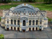 PARQUE KIEV EN MINIATURA, KIEV, UCRANIA fotos de archivo