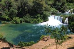 Parque Krka-nacional na Croácia Imagens de Stock Royalty Free