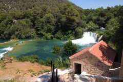 Parque Krka-nacional na Croácia Foto de Stock Royalty Free