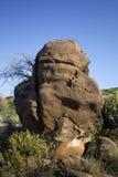 Parque Kutch dos fósseis, Gujarat Fotos de Stock Royalty Free