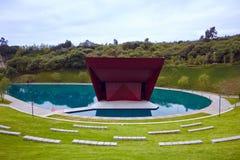 Parque La Mexicana,墨西哥公园, Teatro 库存图片