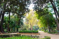 Parque Maria Luisa royaltyfri foto
