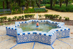 Parque Maria Luisa. Maria Luisa park in Seville, Andalusia, Spain Royalty Free Stock Photos