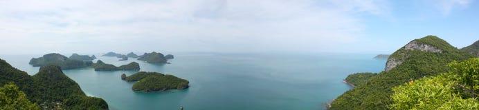 Parque marinho nacional da tanga do ANG, Tailândia imagens de stock