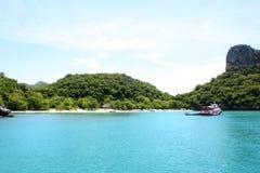 Parque marinho nacional da tanga do ANG, Tailândia imagens de stock royalty free